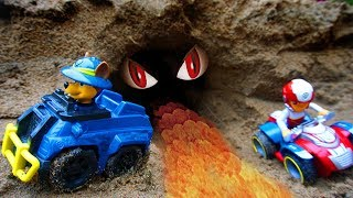 Paw Patrol Vehicle Toy Go Through A Tunnel   Toys For Kids