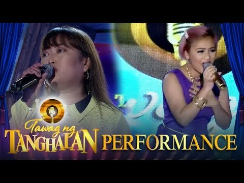 Krisna Gold Bawiin vs. Alliyah Cadelina   Tawag ng Tanghalan