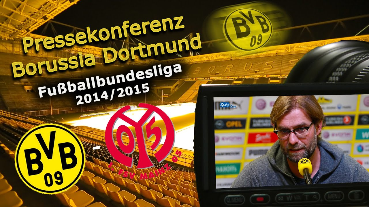 Borussia Dortmund - 1. FSV Mainz 05 : Bundesliga-Pressekonferenz Jürgen Klopp