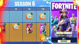 Comment débloquer SEASON 6 BATTLE PASS - PETS Gratuit dans Fortnite Battle Royale! (Nouvelle saison 6 Battle Pass)