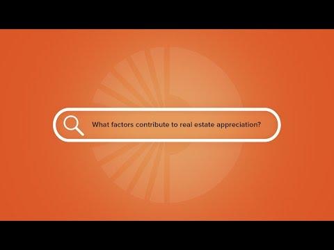 Factors of real estate appreciation