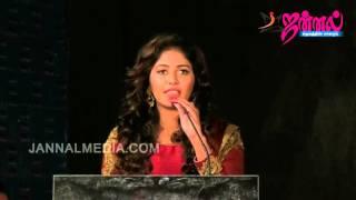 Actress anjali open talk at Iraivi movie special