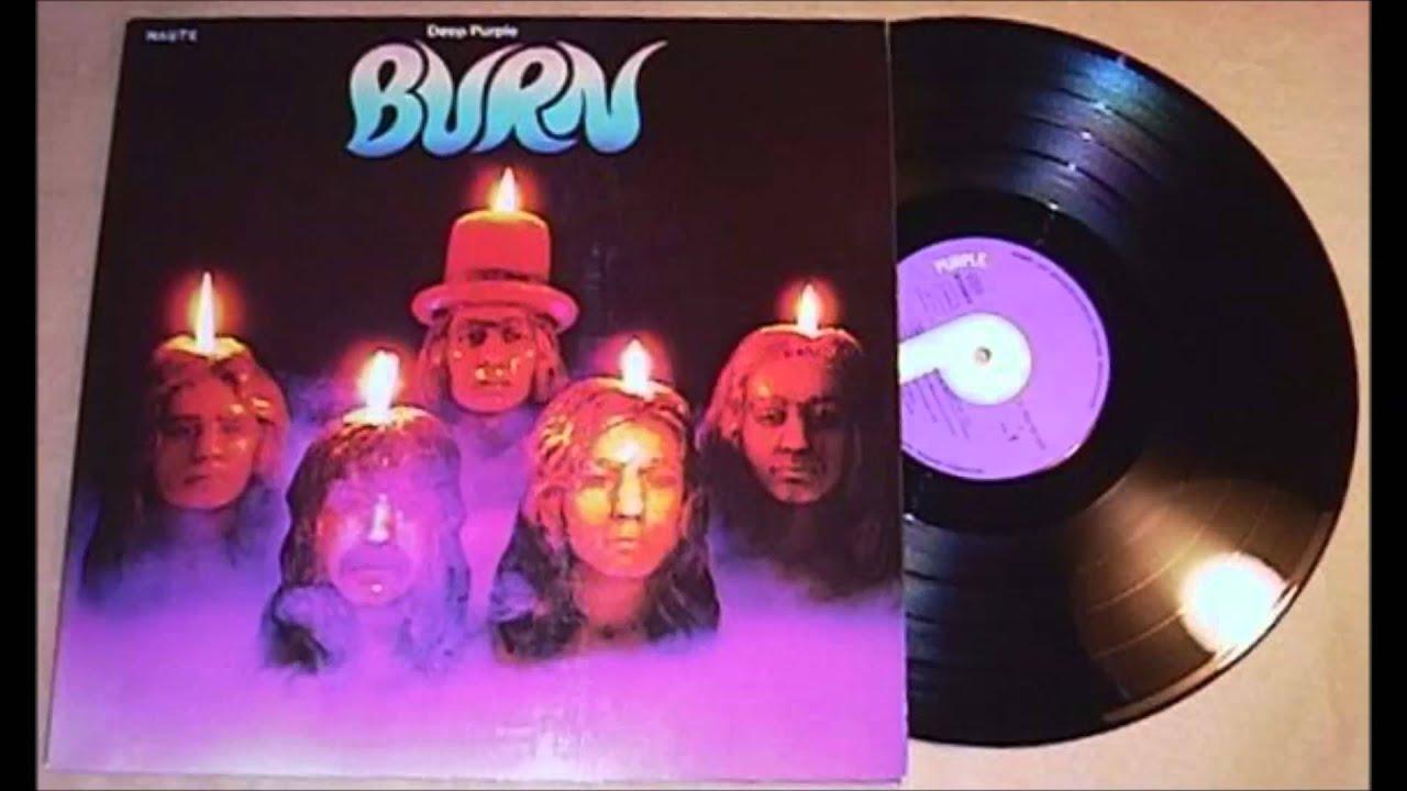 Deep Purple Burn Vinyl Youtube