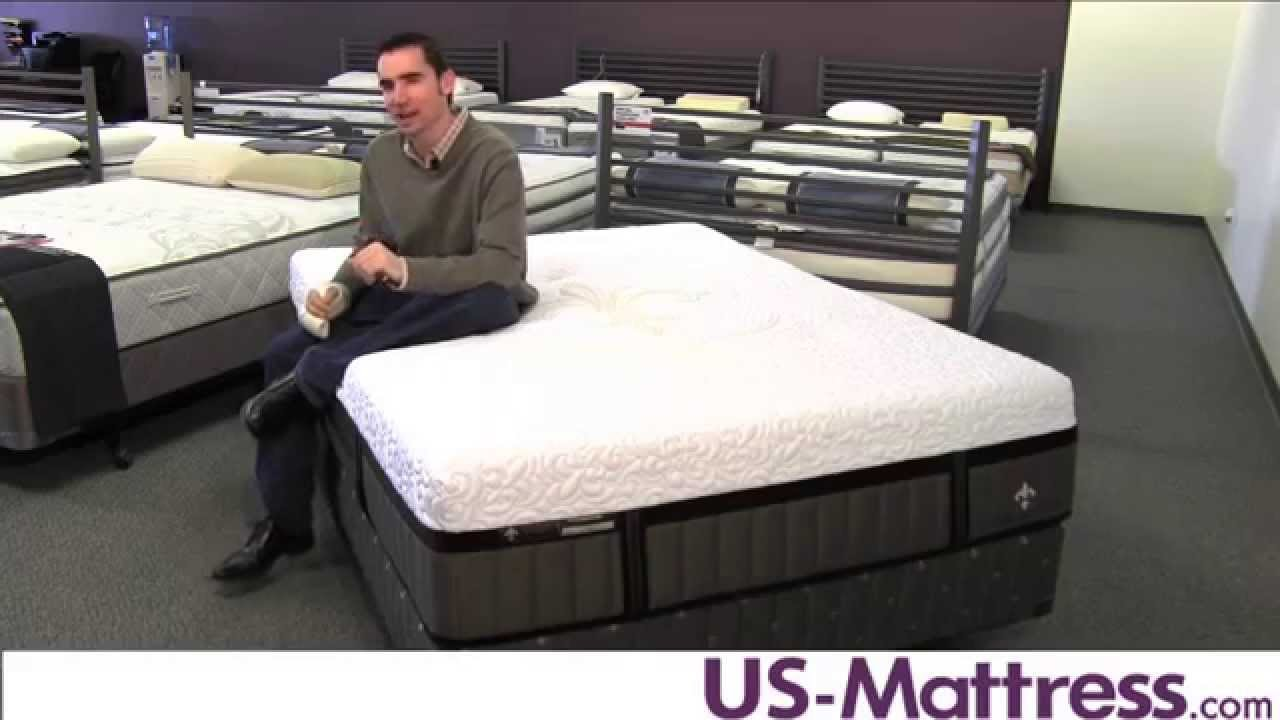 Stearns Foster Lux Estate Hybrid Point Robinson Luxury Ultra Plush Mattress You