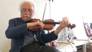 ویلن شاملو - چهار مضراب  سه گاه ستاره امید - یادی از گلپایگانی Persian Violin- Shamlou Setareye Omid