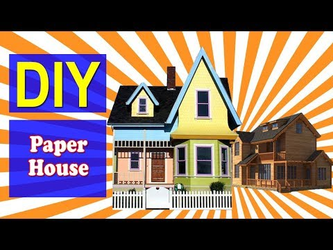 How to Make Paper House 01 | Easy DIY Paper House | Why Crafts