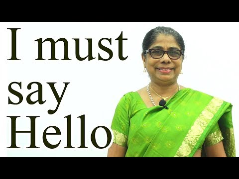 I must say Hello | Character Building and Moral Values for Kids | Episode - 10