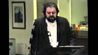 Tenor Carlo Cazals singt Lieder von Franz Schubert Teil 2