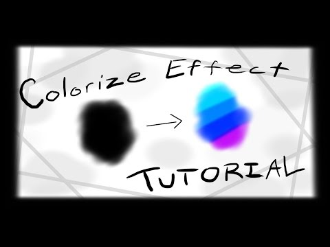 Colorize Effect Tutorial | Geometry Dash