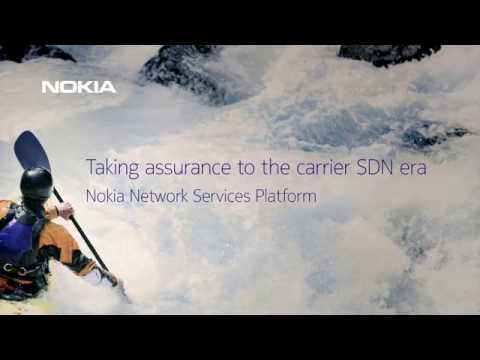Making carrier SDN happen with the Nokia Network Services Platform
