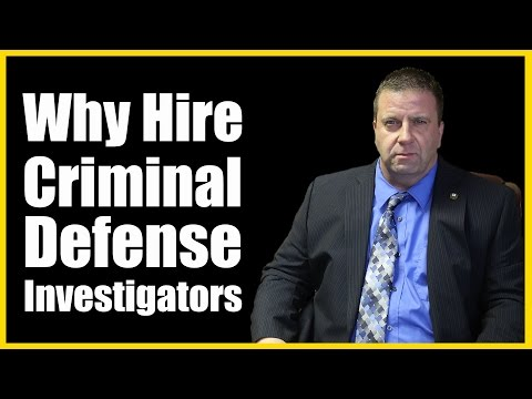 Criminal Defense Investigator Las Vegas | What is a Private Criminal Defense Investigator?