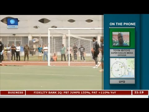 Super Eagles In Top Gear, Prepare For Match Against Cameroon Pt 1 | Sport Tonight |