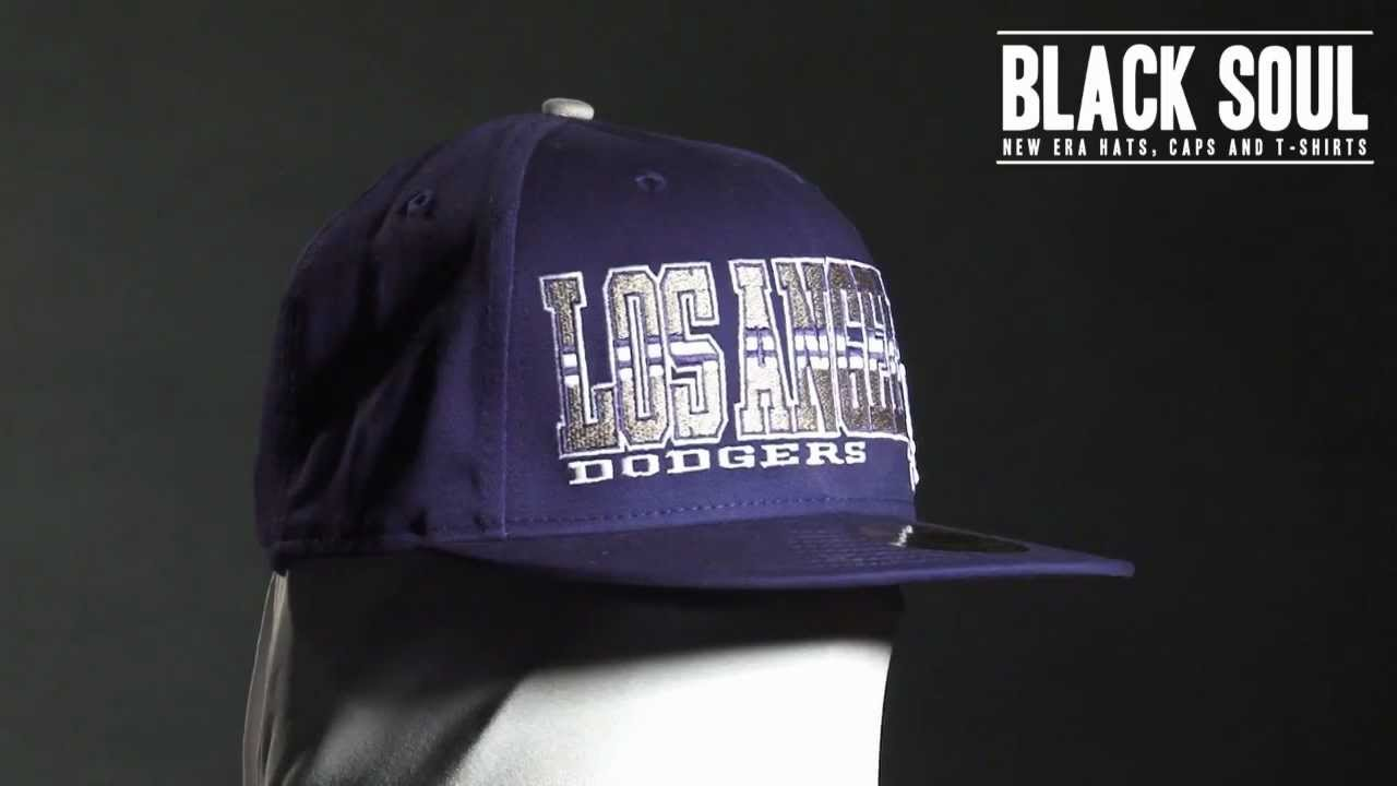 Boné New Era 5950 59Fifty aba reta Los Angeles Dodgers - YouTube 72950401729