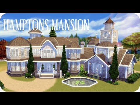HAMPTONS MANSION | Sims 4 House Building