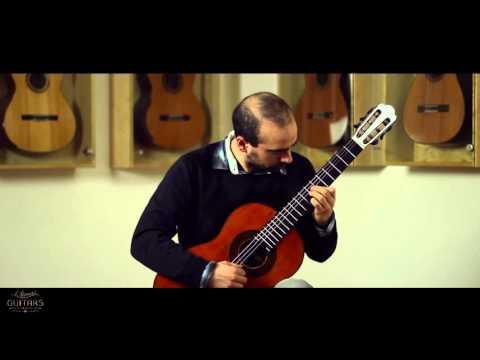 Manuel Sánchez Riera plays Sonatina II Andante by Torroba on a Milestones Torres Model Relic