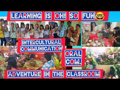 Senior High School - Intercultural Communication (Oral Communication In Context )