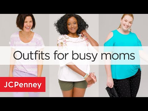 Spring Outfit Ideas For Busy Moms: Quick and Easy Outfits | JCPenney