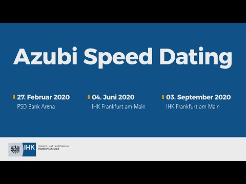 Azubi Speed-Dating IHK Koblenz from YouTube · Duration:  5 minutes 9 seconds