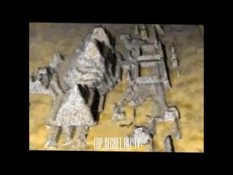 TOP SECRET FILE   Atlantis Found   Giant Sphinxes,Pyramids in Bermuda Triangle