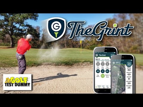 Download THE GRINT APP Review! - Track Your Stats - Golf Test Dummy