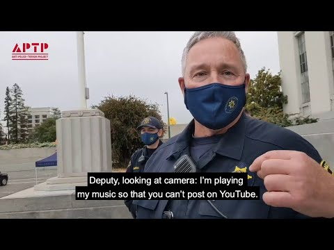 Cop Plays Taylor Swift to Prevent Video Sharing of Him Harassing Protesters