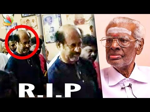 Rajinikanth's makeup man Muthappa passes away | Death Video