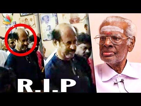 Rajinikanth's makeup man Muthappa passes away   Death Video