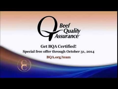 Beef Quality Assurance (C2C) - YouTube