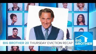 Big Brother 20 | Thursday Eviction Episode Recap, July 12
