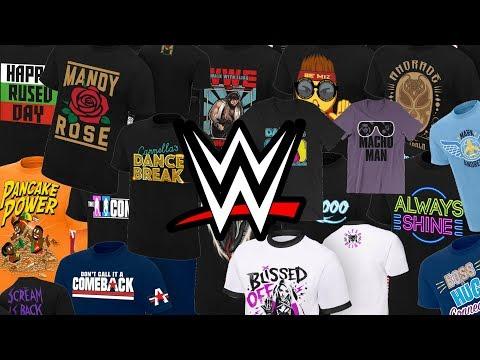 WWE Shop Gift Ideas - WWE Superstar T Shirts