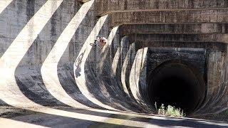 RIDING DOWN WORLDS BIGGEST PIPE