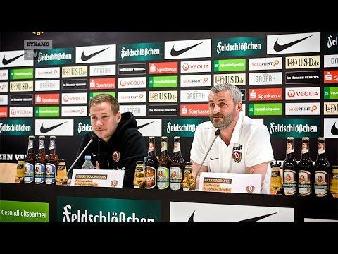 32. Spieltag | SGD - Bielefeld | Pressekonferenz vor dem Spiel