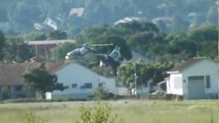 eurocopter ec-135 landing on sbbi: [HD-1280p]