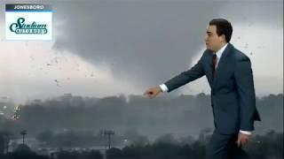 Jonesboro Tornado - Kait-tv Coverage  March 28, 2020