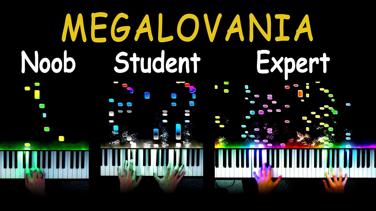 5 Levels of Megalovania: Noob to Expert