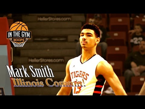 Mark Smith IS Illinois Mr  Basketball 2017! Illinois Commit BALLS OUT!