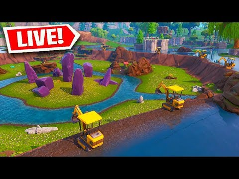 The Final Stage of LOOT LAKE is Almost Here! (FORTNITE BATTLE ROYALE)