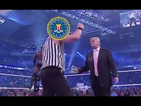 DOJ / FBI Destroys Donald Trump in Wrestlemania 23