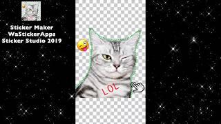 Sticker Maker WaStickerApps - Sticker Studio 2019 screenshot 2