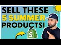 🤑 TOP 5 WINNING DROPSHIPPING PRODUCTS TO SELL IN SUMMER 2021   SHOPIFY