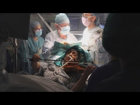 Violinist Plays During Her Own Brain Surgery