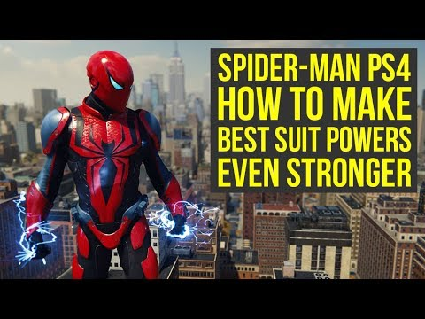 Spider Man PS4 Best Suit Powers & How To...