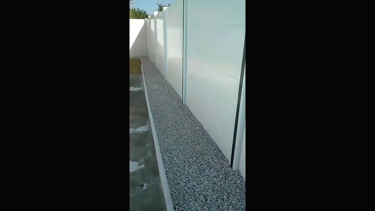 Valla de jard n de pvc youtube for Vallas de pvc para jardin