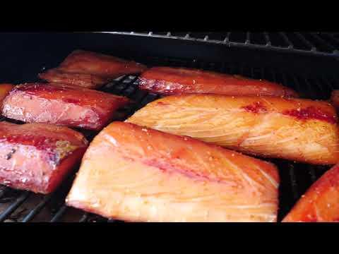 TRAEGER GRILL SMOKED KINGFISH