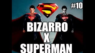 Superman Returns - Xbox 360 - BIZARRO DESAFIA SUPERMAN - parte 10