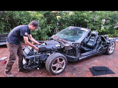 Off-Road Vette Kart - Relocating The ECU, Fusebox, & Battery
