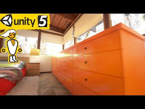 UNITY 5 Engine - Bedroom TECH DEMO 4k / 60FPS