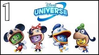 Zagrajmy w Disney Universe odc.1 Uratujmy Universum Disney'a