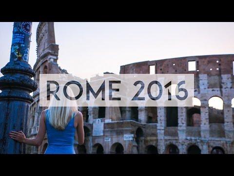 TRAVEL VLOG | ROME 2016 | VLOG VOYAGE