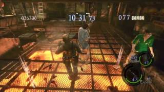 Resident Evil 5 / Biohazard 5 Pc Steam The Mercenaries Reunion Duo Excella x2 Prision (HD)